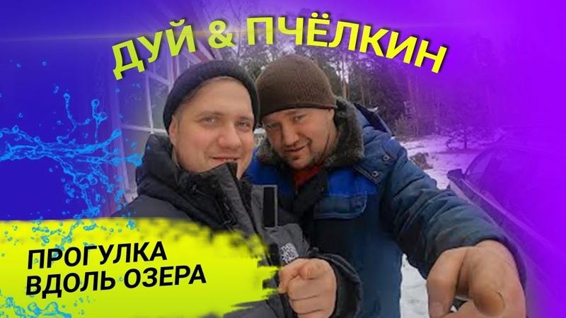 ДУЙ И ПЧЁЛКИН Прогулка вдоль озера