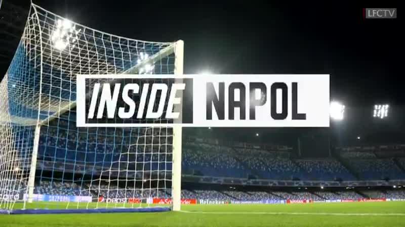 Inside Napoli Stadio San Paolo − 16.09.19