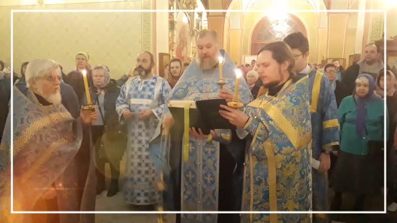 Праздник Покрова Пресвятой Владычицы нашей Богородицы
