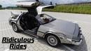 I Drive My DeLorean With A Remote Control RIDICULOUS RIDES