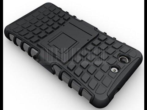 Защитный гибридный бронебойный чехол для Sony Z3 Compact Версия 2