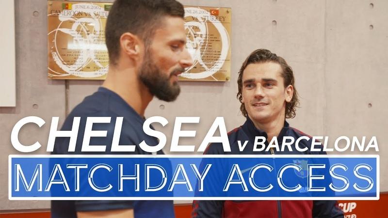 🎥Matchday Access | Chelsea v Barcelona: Abraham Barkley🔥