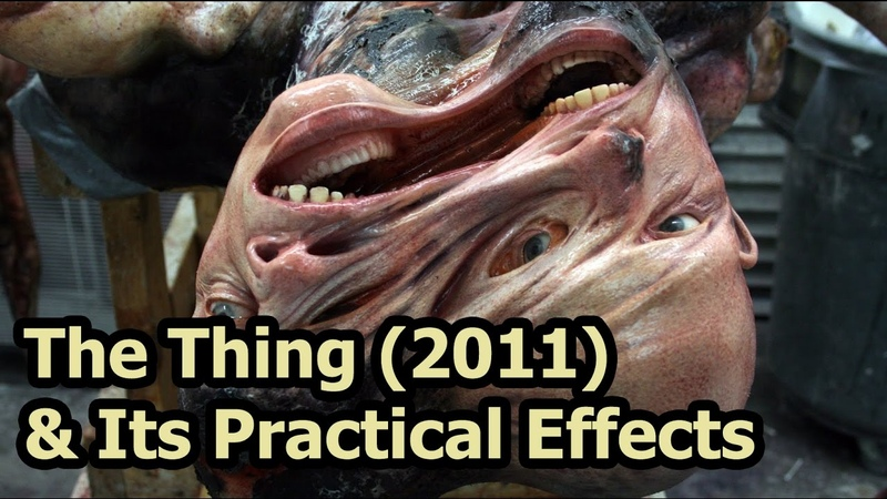 The Thing 2011 How It Looked With Amalgamated Dynamics' Practical Effects Why They Weren't Used