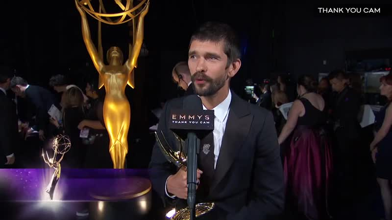 71st Emmys Thank You Cam Ben Whishaw