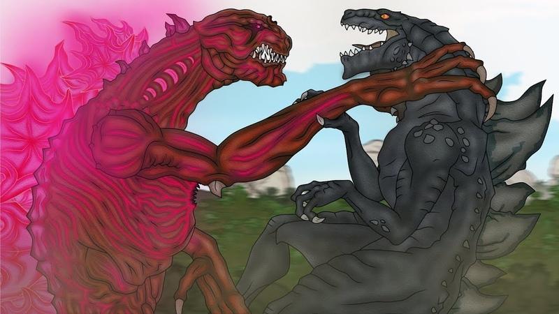 Кинг Конг против Годзиллы 21 King Kong vs Godzilla 21 Neo Shin Godzilla