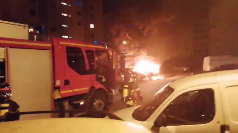 Cette nuit du 1er Janvier 2020 Les Habitants du GrandParc MaryseBastié Bordeaux victimes une fois de plus de Nuisances