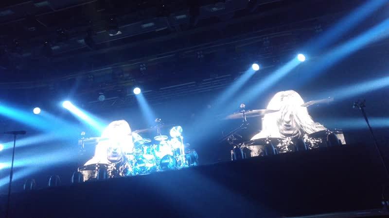 Scorpions - Соло барабанщика Микки Ди (Mikkey Dee). LIVE in Voroneg 10.11.19.