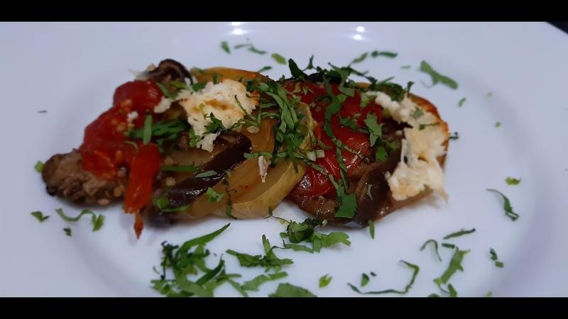 Овощи запечённые в духовке | Ջեռոցում եփված բանջարեղեններ