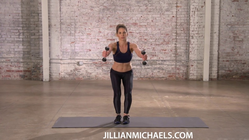 TOTAL BODY WORKOUT WITH WEIGHTS STRENGTH BUILDING FAT BURNING - JILLIAN MICHAELS