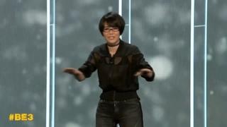 "Ikumi Nakamura saying ""It's Spooky"" at E3 2019"