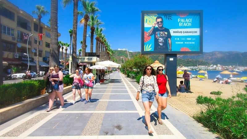 Walk in Marmaris City Center, Muğla Türkiye