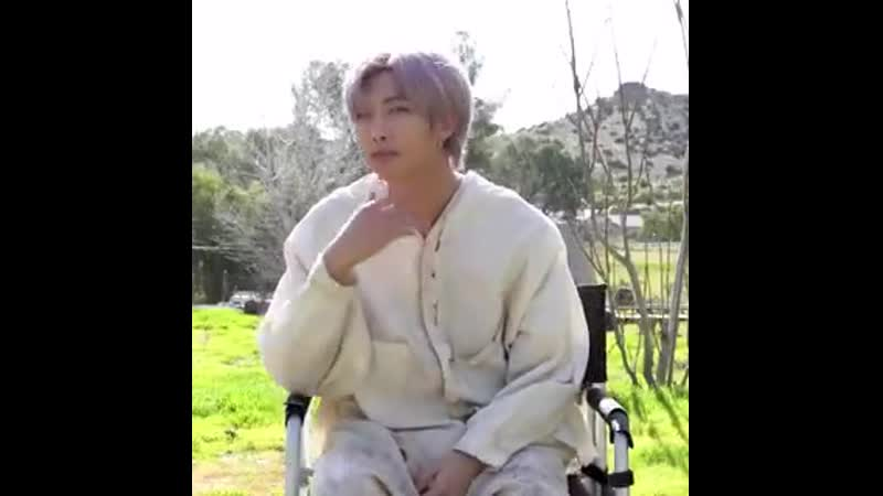 Just seven seconds of namjoon's charm