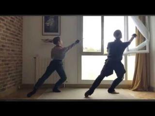 Covid-19 Ballet Barre en live 2ème édition Philippe Solano & Tiphaine Prévost