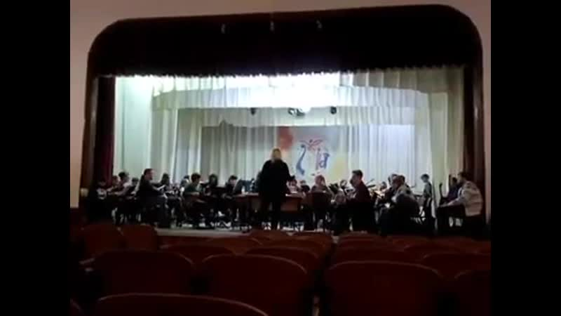 Репетиция Садко 24 января 2020 Е.Дога Вальс
