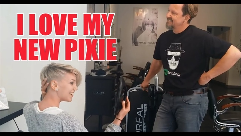 HAIR 2020 BIG MAKEOVER 1 PIXIECUT FROM LONG TO SHORT HAIR by JOERG MENGEL FRISEURE