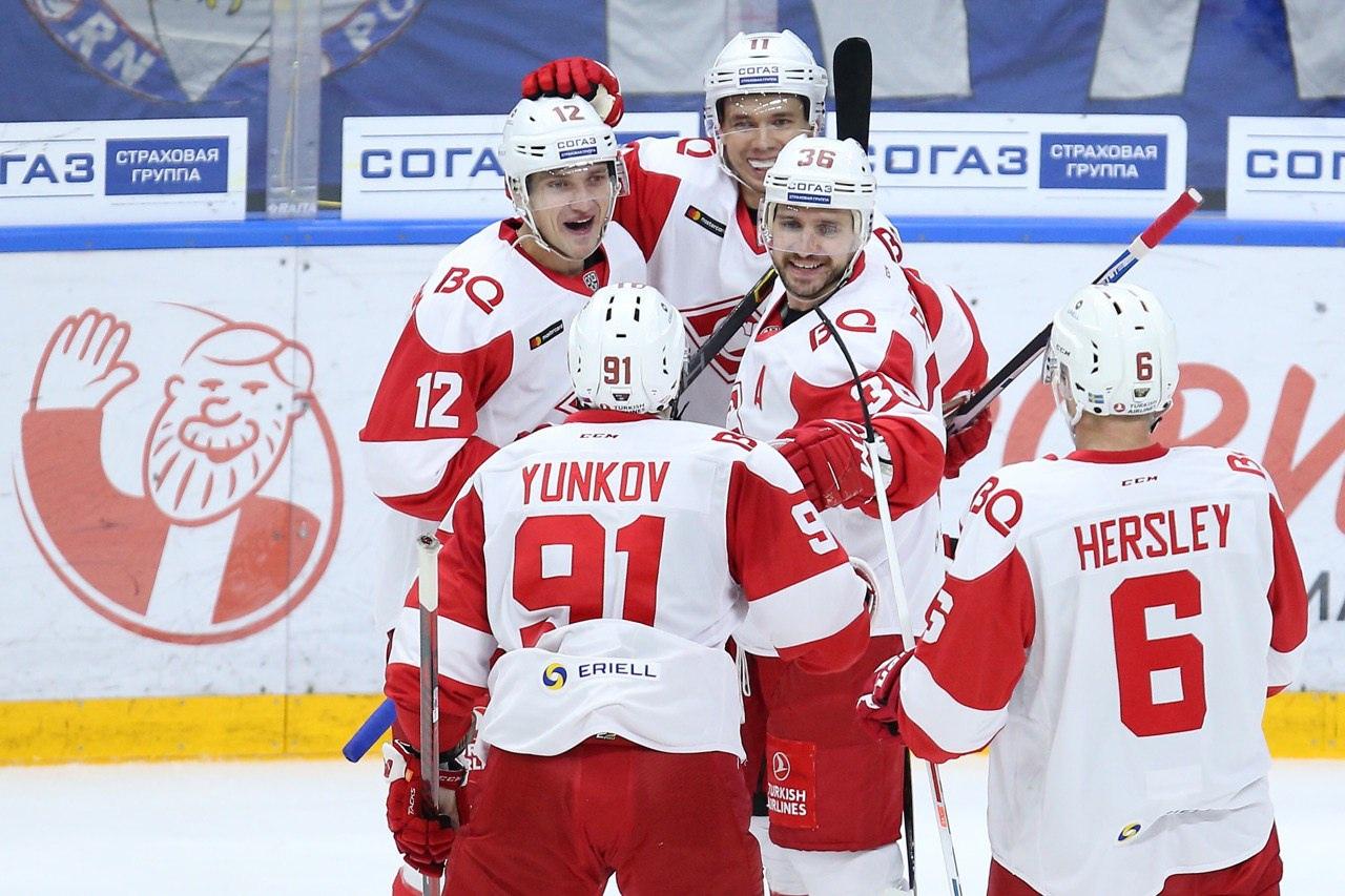 «Спартак» отправился в Хельсинки