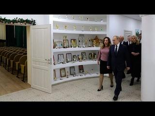 Как прошел визит Путина в Усмань