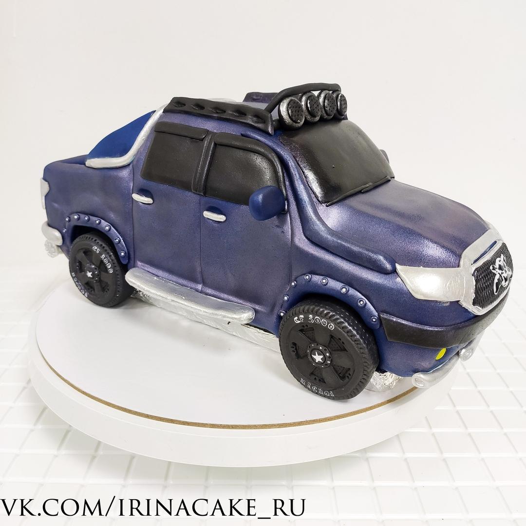 торт в виде машины (Арт. 665)