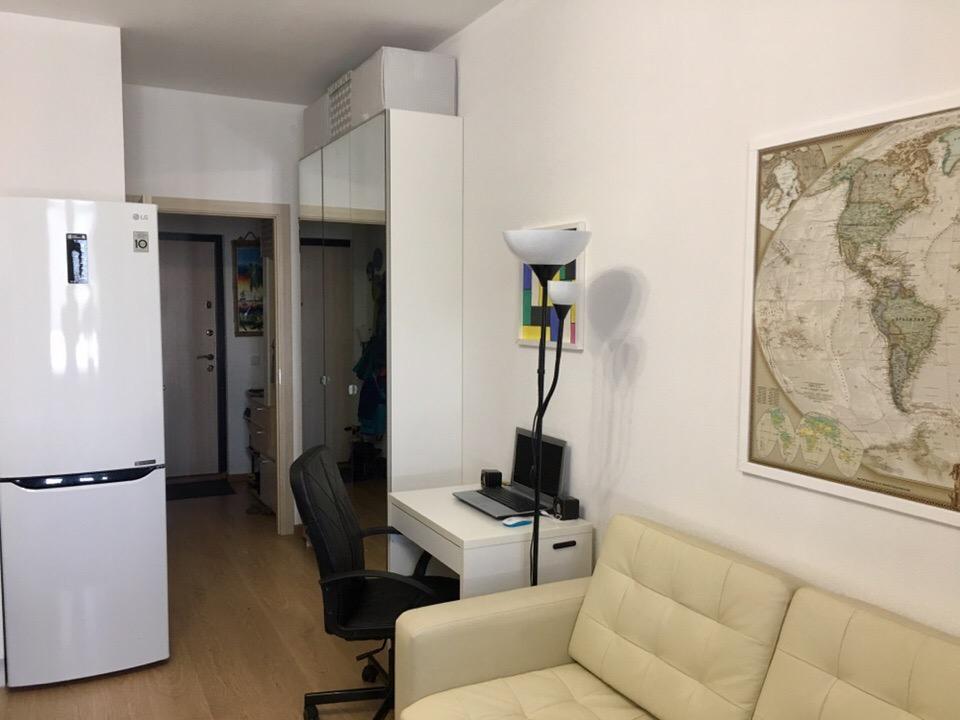 Уже обжитая квартира студия 25 кв.