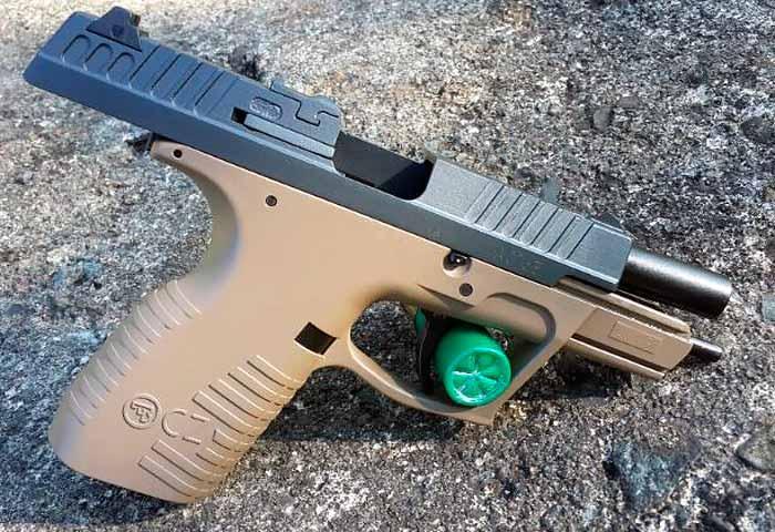 Пистолет CZ 100, Чехия, изображение №4