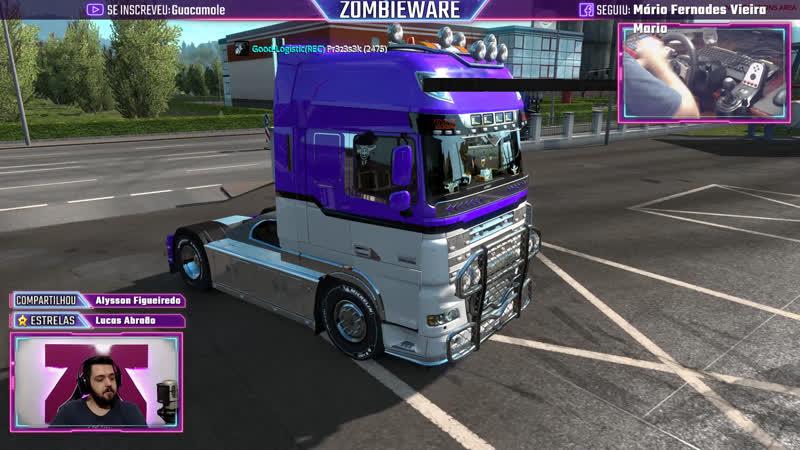 Viagem Pesada Sorteio! ETS 2 Boné da Volvo