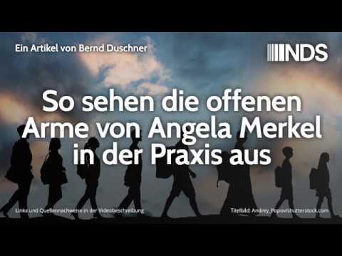 So sehen die offenen Arme von Angela Merkel in der Praxis aus | Bernd Duschner | 10.09.2019