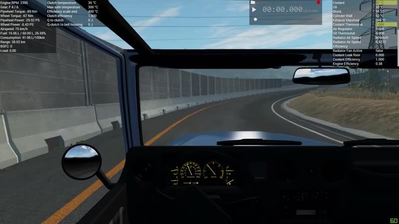 V8 Hopper 4.5L s1 350PS First Test
