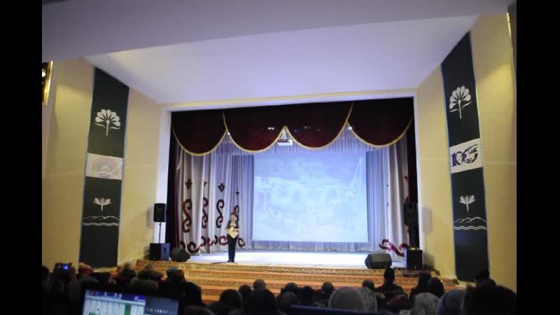 Фрагмент концерта посвященный годовщине создания Казачьего Военно патриотического клуба Александр Невский