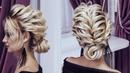 Красивые прически пошагово Свадебная прическа Низкий пучок на короткие волосы