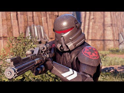 Star Wars Battlefront 2 Purge Trooper Gameplay Purge Trooper Mod
