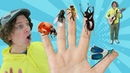 Family Finger Song - Bugs Part 2 with Matt Nursery Rhymes, Childrens Song Learn English Kids