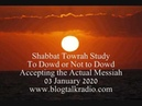 Shabbat Towrah Study To Dowd or Not to Dowd 03 January 2020