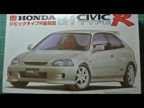 Honda Civic Type R 1 24 Fujimi