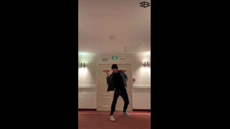 [SF9s Travelog] TAE YANG_Cookie Clip_유럽 호텔 복도 RPM 연습 첫 날