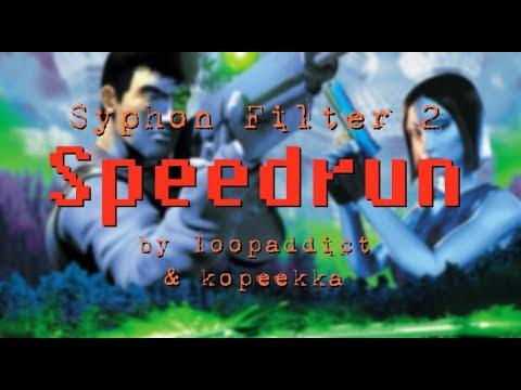 Syphon Filter 2 Speedrun WR 1 05 41 by loopaddict kopeekka