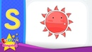 S Phonics - Letter S - Alphabet song | Learn phonics for kids