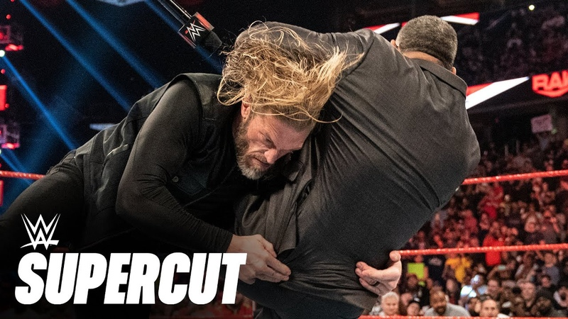 100 of Edge's most devastating Spears WWE Supercut