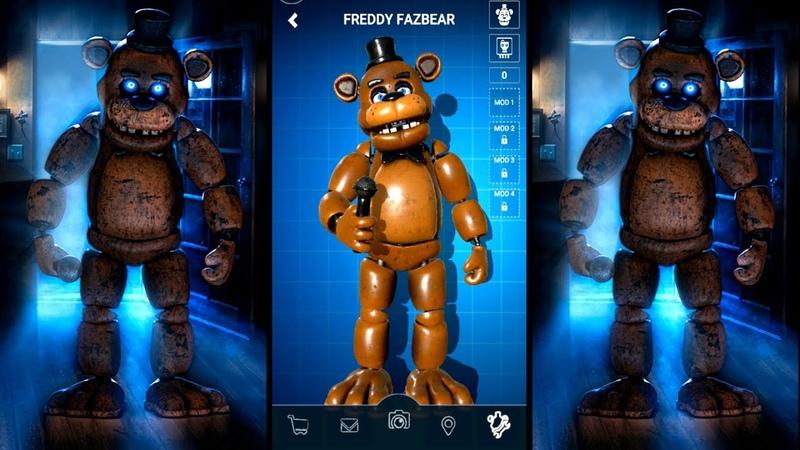 FREDDY FAZBEAR Five Nights at Freddy's AR Special Delivery