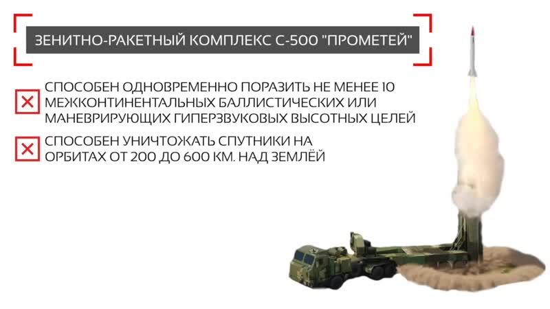 С-500 испытания в действии новое оружие России