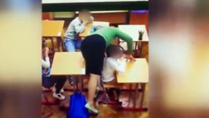 Вести.Ru: В Москве задержана учительница коррекционной школы, избивавшая детей