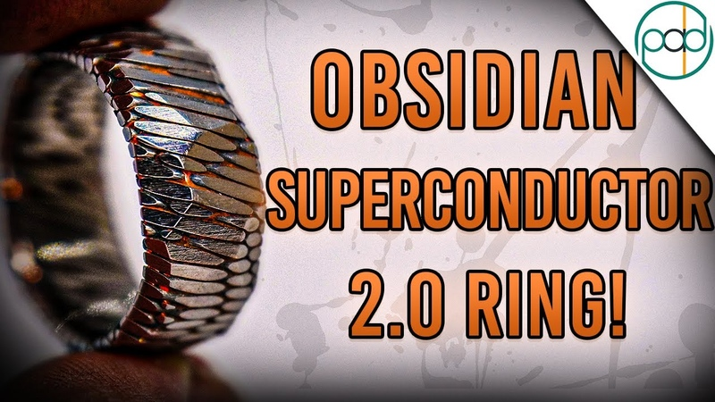 Making the Superconductor 2 0 Ring Acid Etched Superconductor with Obsidian Facets Part 2
