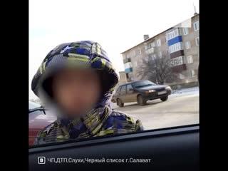 Вышел накопить денежку на шапку: в Башкирии сняли видео, как мальчик просил у прохожих подачку