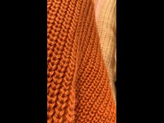 Удлинённые вязанные свитера SRS CLOTHING BRAND