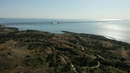 Crimean bridge the city of Kerch and Kerch fortress