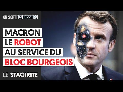 MACRON LE ROBOT AU SERVICE DU BLOC BOURGEOIS