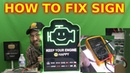 How To Fix LED Sign Repair NAPA Happy Engine