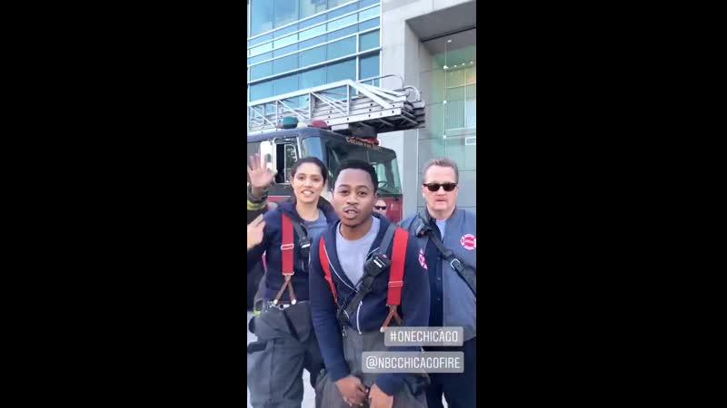 Пожарные Чикаго ждут выхода серий