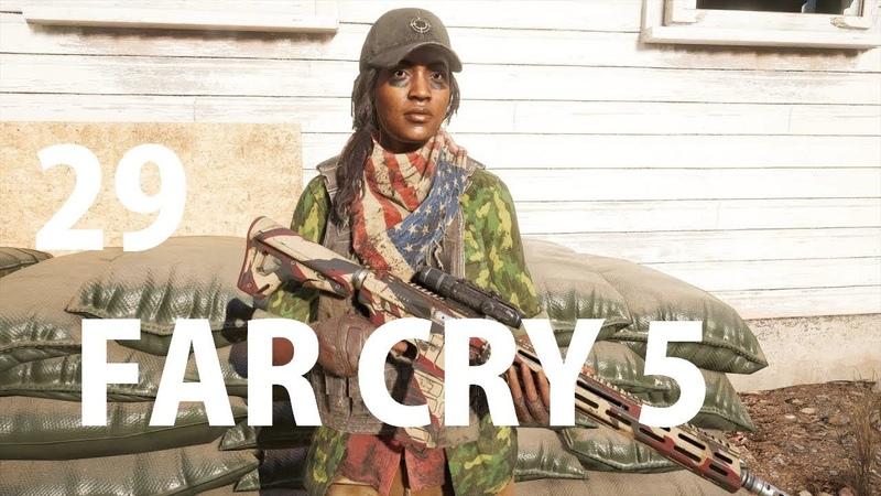 Прохождение Far Cry 5 № 29 Грейс в огне