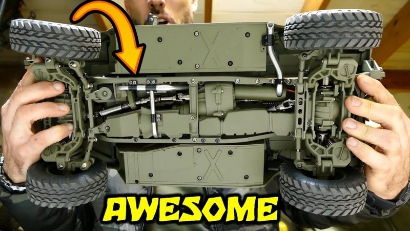 AMAZING RC CAR - HG P408 US MILITARY HUMVEE Upgraded Version - PART 1