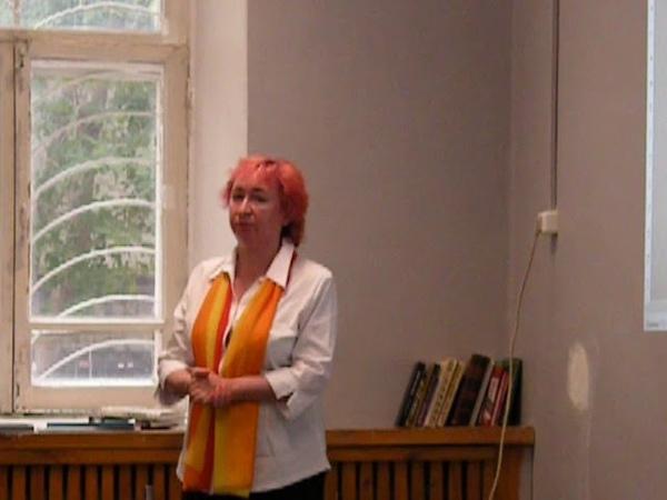 Шашкина Лариса Вальтеровна на лекционном интенсиве Мой дом - памятник